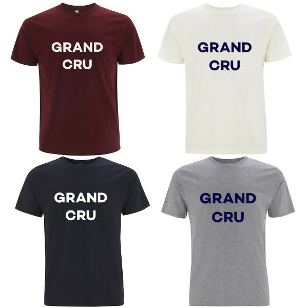 grand cru mens organic cotton t-shirt