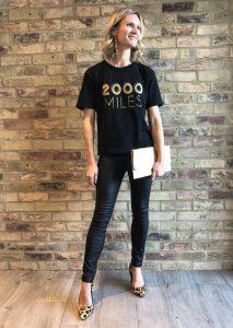 2000 miles t-shirt