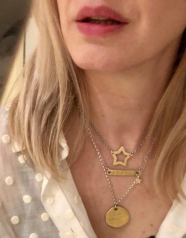 santé necklace | Bon Vintage necklace