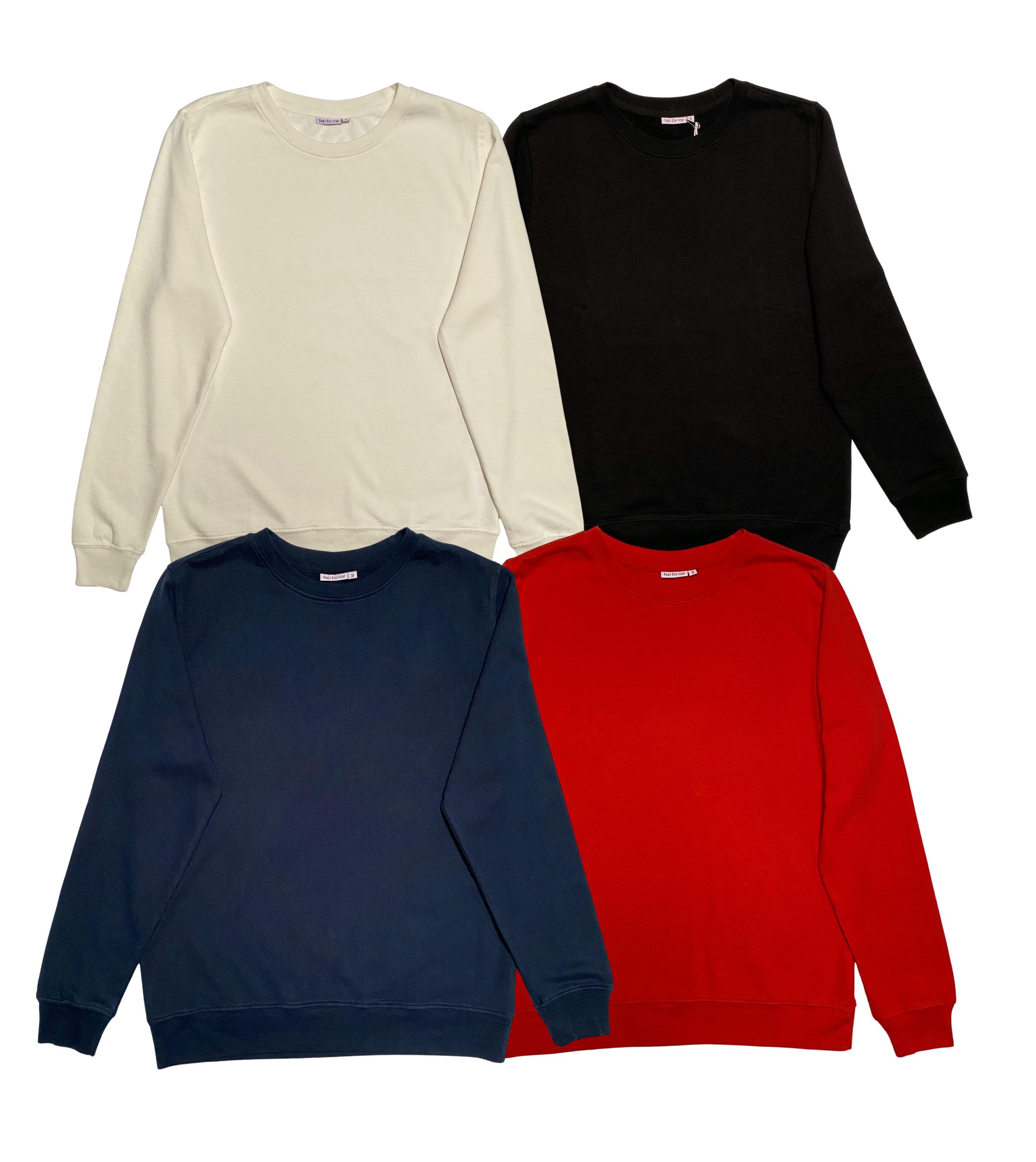 fine knit sweatshirt