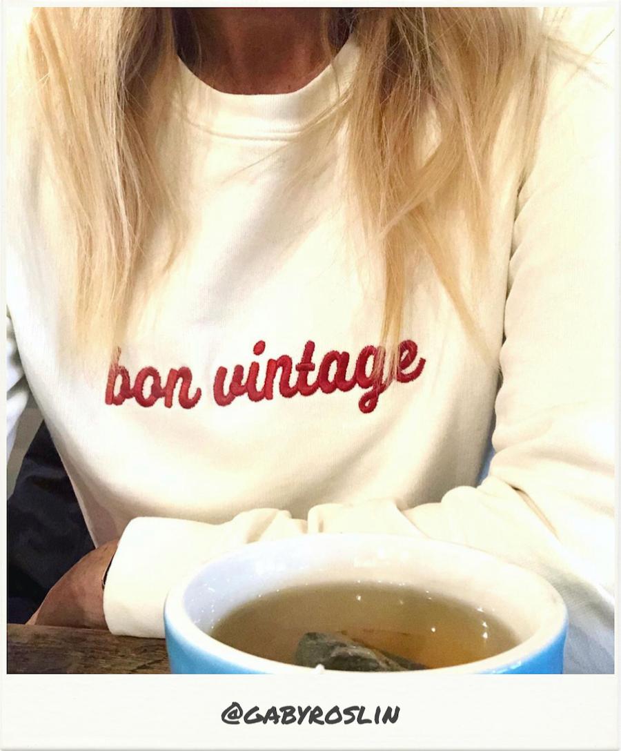 fwpbyrae | Bon Vintage sweatshirt