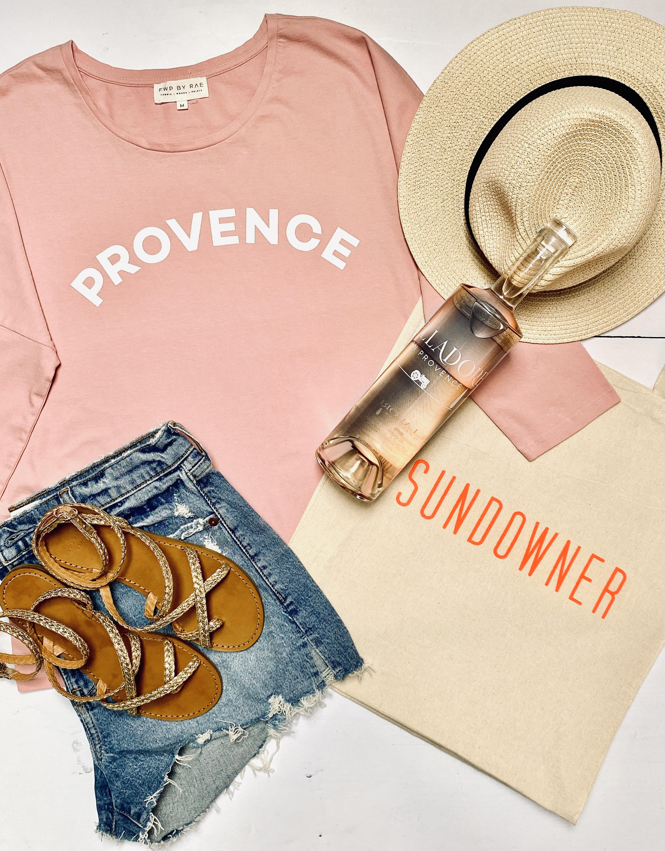 provence long sleeve t-shirt