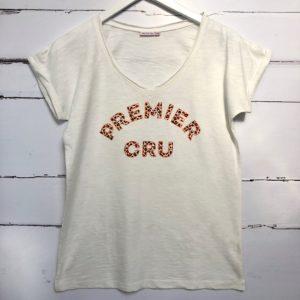 Premier Cru T-shirt leopard print