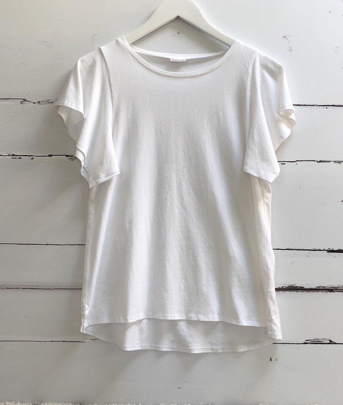 Angel sleeve t-shirt