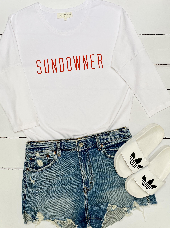 sundowner long sleeve t-shrit