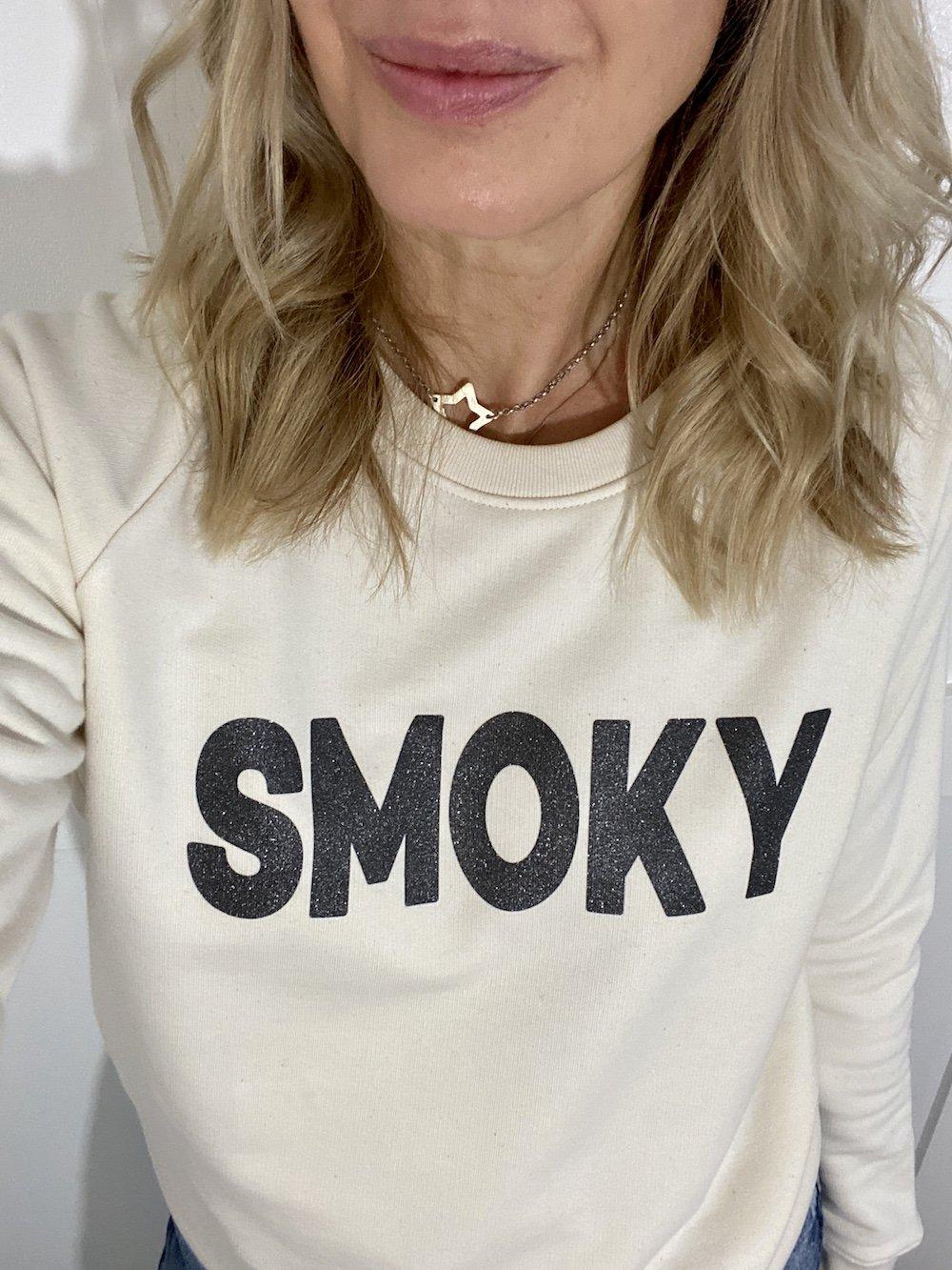 smoky sweatshirt