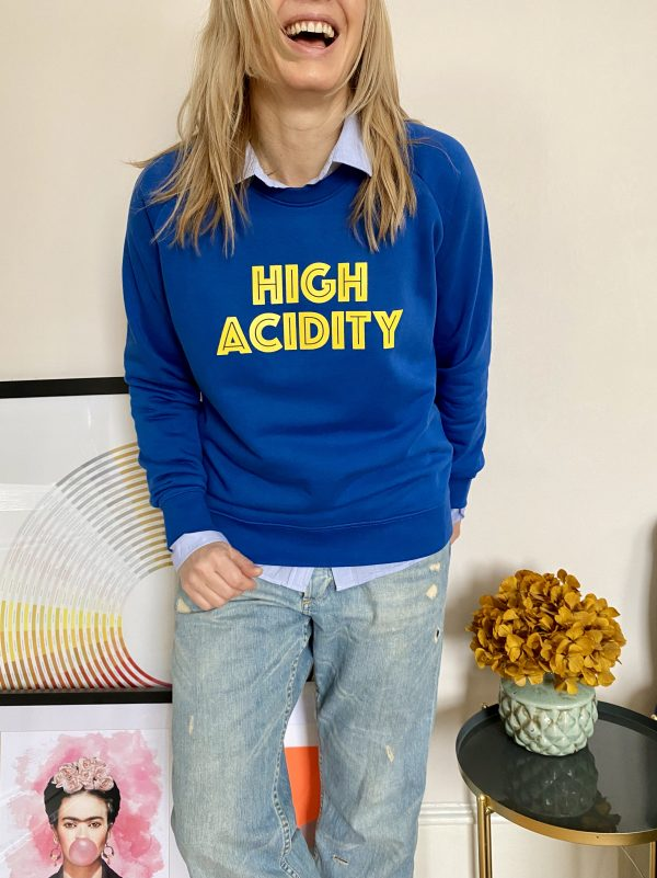 high acidity sweatshirt