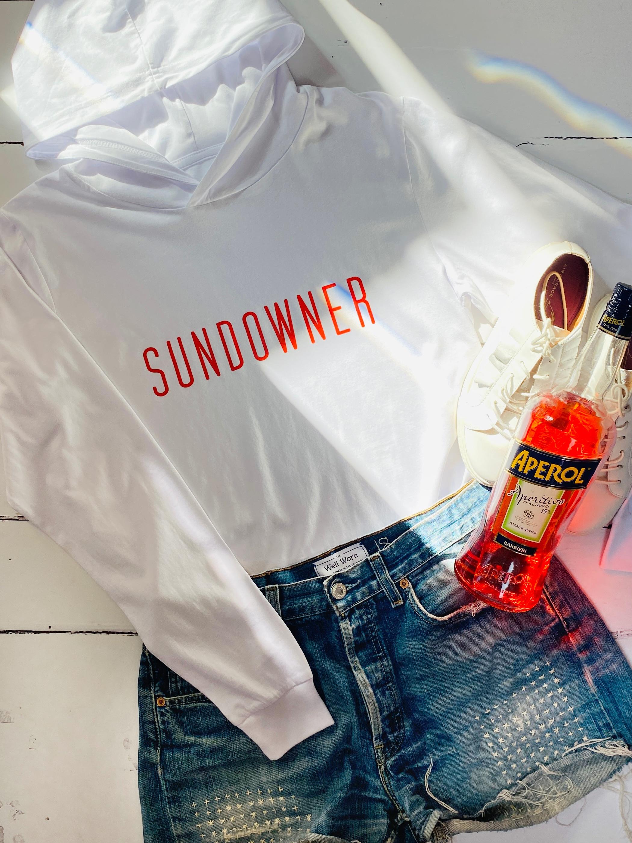 sundowner hooded t-shirt