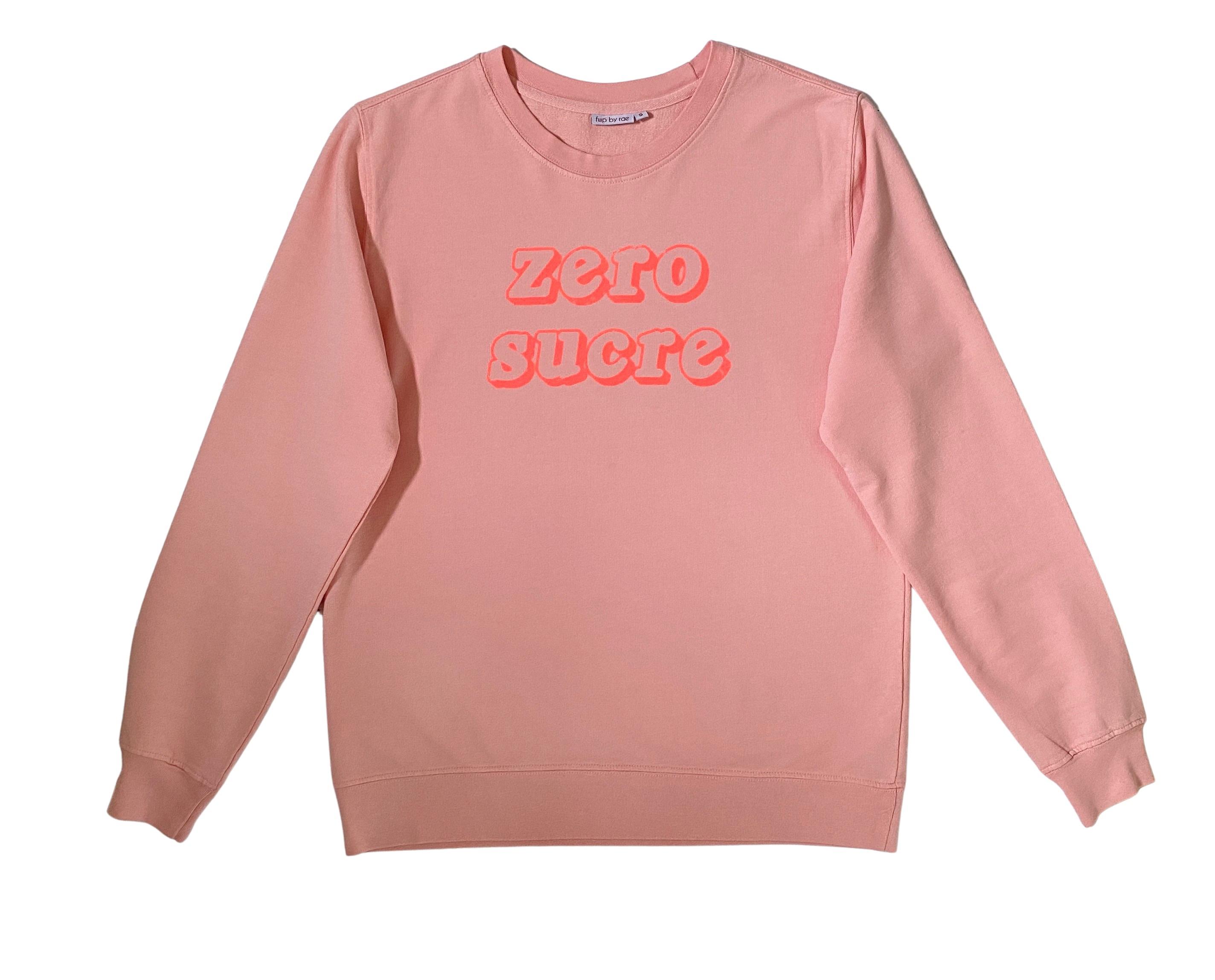 zero sucre fine knit sweatshirt